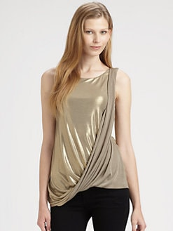 Bailey 44 - Metallica Draped Top
