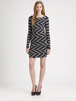 Bailey 44 - Zig-Zag Bandage Dress