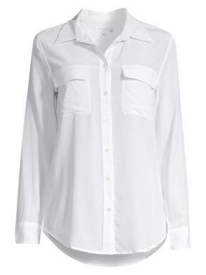 이큅먼트 시그니처 실크 셔츠 Equipment Slim Signature Silk Shirt