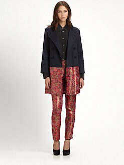 Wren - Brocade Combo Jacket