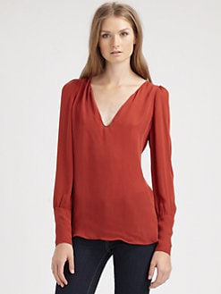 Chelsea Flower - Silk Tunic