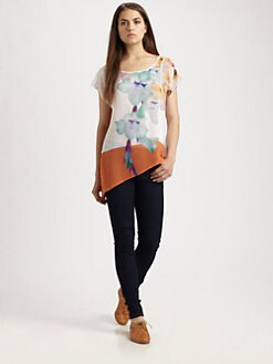 Clover Canyon - Orchid-Print Top