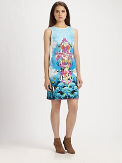 Clover Canyon - Underwater-Print Dress