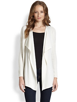 Design History - Cashmere Draped Cardigan