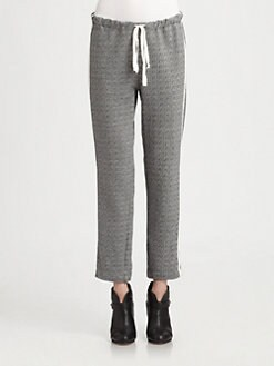 Clu - Two-Tone Terry Pants