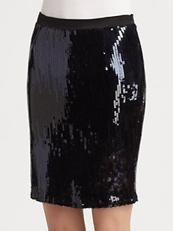 PJK Patterson J. Kincaid - Holland Sequin Pencil Skirt