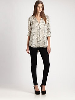 Equipment - Keira Silk Shirt