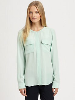 Equipment - Lynn Silk Shirt