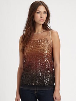 Renzo and Kai - Ombre Sequin Tank