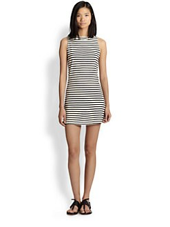 Townsen - Captain Striped Stretch Jersey Dress