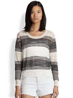 Townsen - Zuma Striped Fine-Knit Sweater