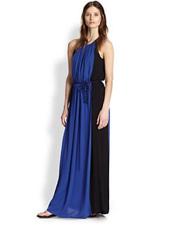 Ella Moss - Stella Sleeveless Colorblock Maxi Dress