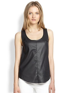 Townsen - Rookie Perforated Faux-Leather Tank