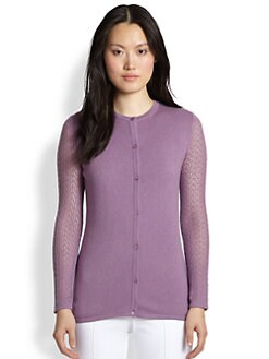 Saks Fifth Avenue Collection - Silk/Cashmere Cardigan