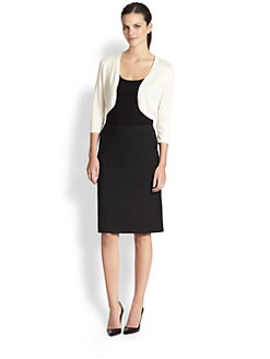 Saks Fifth Avenue Collection - Silk/Cashmere Bolero