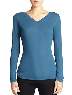 Saks Fifth Avenue Collection - V-Neck Sweater