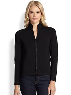 Saks Fifth Avenue Collection - Power Stretch Cardigan-Jacket