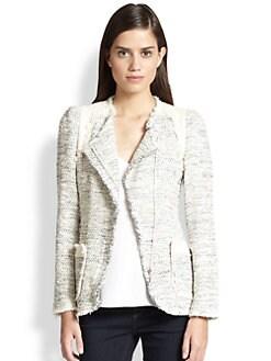 Rebecca Taylor - Metallic Tweed Blazer