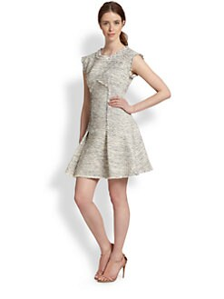 Rebecca Taylor - Tweed Fit-n-Flare Dress