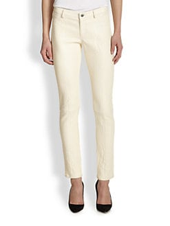 Haute Hippie - Leather Skinny Pants