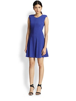 Rebecca Taylor - Textured Ponte Dress