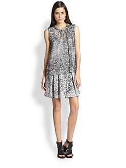 Rebecca Taylor - Double Layer Silk Dress