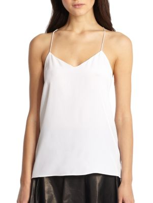 Silk Crepe de Chine Camisole Top