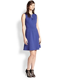 Rebecca Taylor - Ponte Fit & Flare Dress