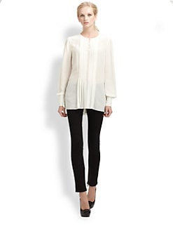 Rachel Zoe - Margaux Silk Tunic Top
