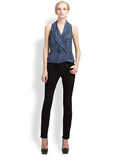 Rachel Zoe - Bree Abstract Top