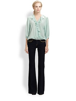 Rachel Zoe - Silk Morris Blouse