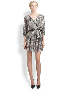 Rachel Zoe - Printed Silk Pippa Dress