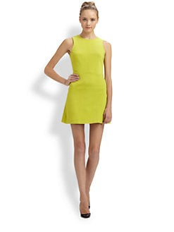 Tibi - Ponte Sleeveless Dress