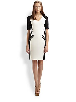 Rebecca Taylor - Colorblock Dress