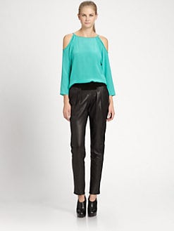 Sachin + Babi - Key Silk Top
