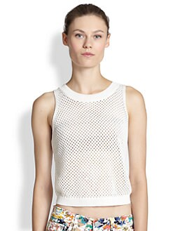 Rebecca Minkoff - Kaia Mercerized Cotton Sweater