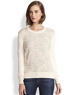 Rebecca Taylor - Animal-Patterned Sweater