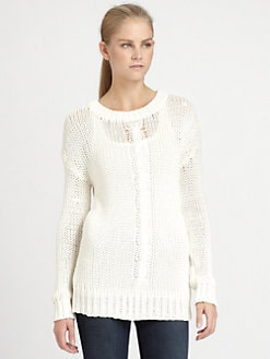 Robert Rodriguez - Cable-Knit Pullover