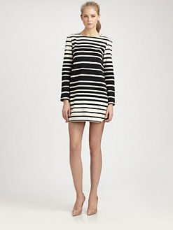 Tibi - Variegated Stripe Dress