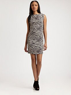 Rebecca Taylor - Leopard Print Dress