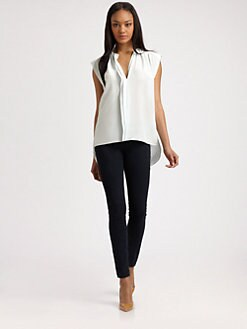Rebecca Taylor - Sleeveless Henley