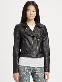 Rebecca Minkoff - Leather Kiefer Jacket