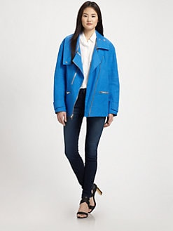 Rebecca Minkoff - Stanton Linen Jacket