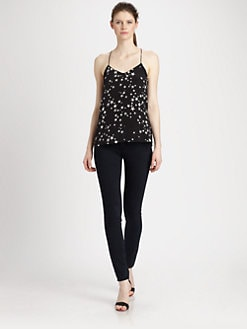 Tibi - Starfish Silk Camisole Top
