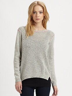 Rebecca Taylor - Marl Open-Back Sweater