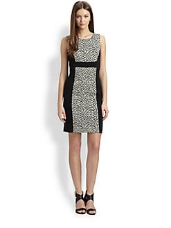 Rachel Zoe - Ricky Snow Leopard Dress