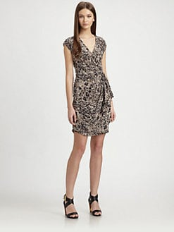 Rachel Zoe - Hannah Silk Surplice Dress