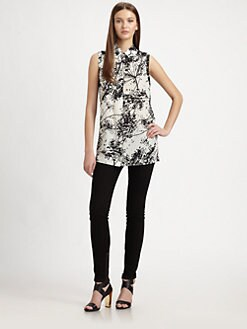 Rachel Zoe - Geri Floral Silk Blouse
