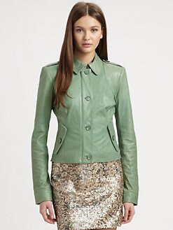 Rachel Zoe - Celia Leather Jacket