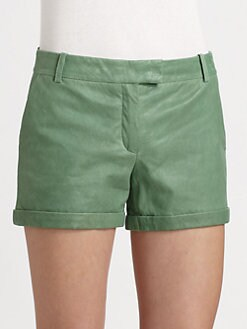 Rachel Zoe - Justin Leather Shorts